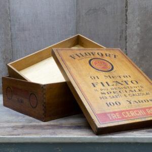 scatola per filati