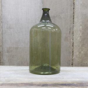 Bottiglione in vetro soffiato - 2 di meta' ottocento