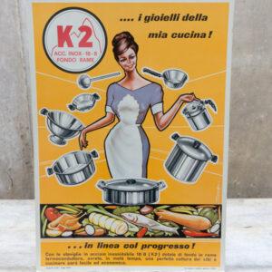 Manifesto pubblicitario anni 60'