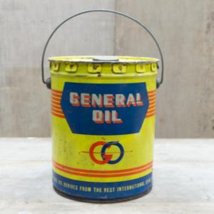 vendita Latta General Oil anni 50' giakkemikkeshop.it